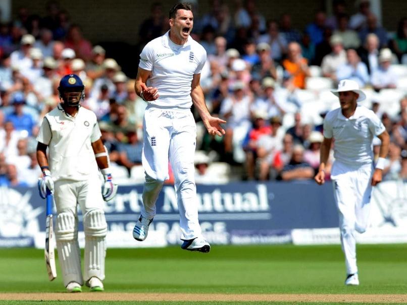 Anderson wicket