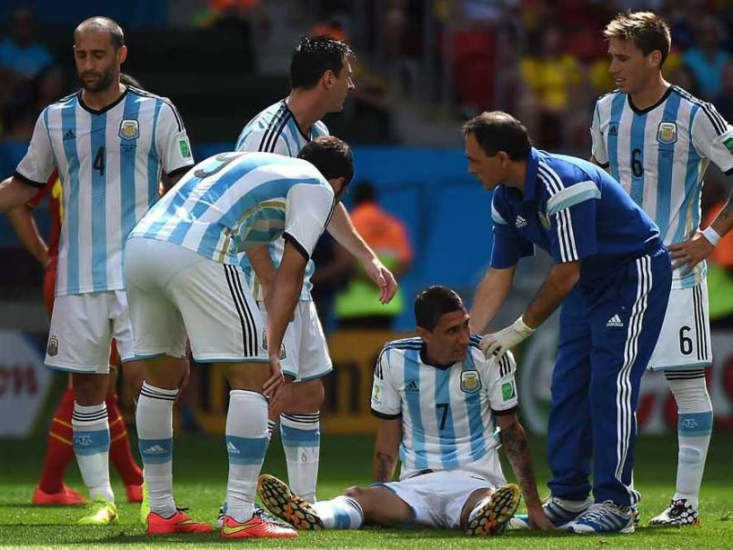 d82cbfd4fa6 FIFA World Cup 2014: Argentina's Angel Di Maria Ruled Out of Semifinals