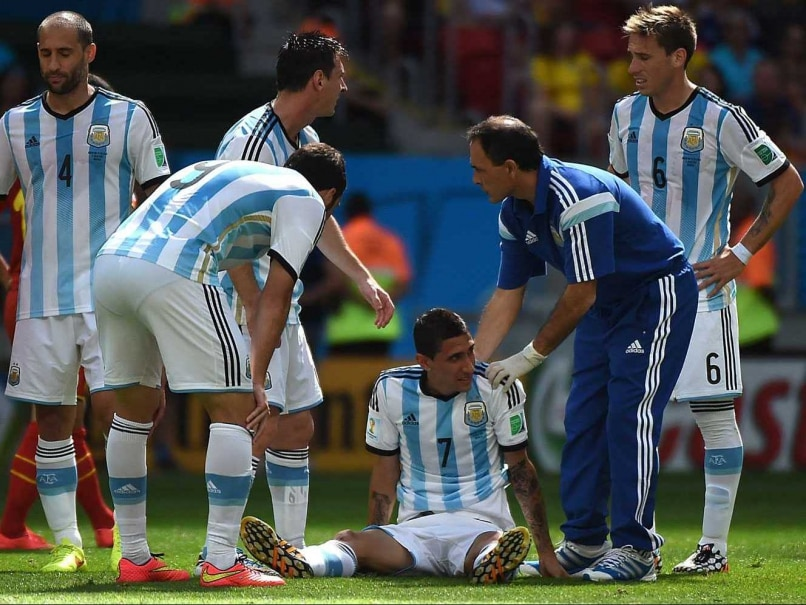 World Cup 2014: Angel Di Maria Injury Setback for Argentina