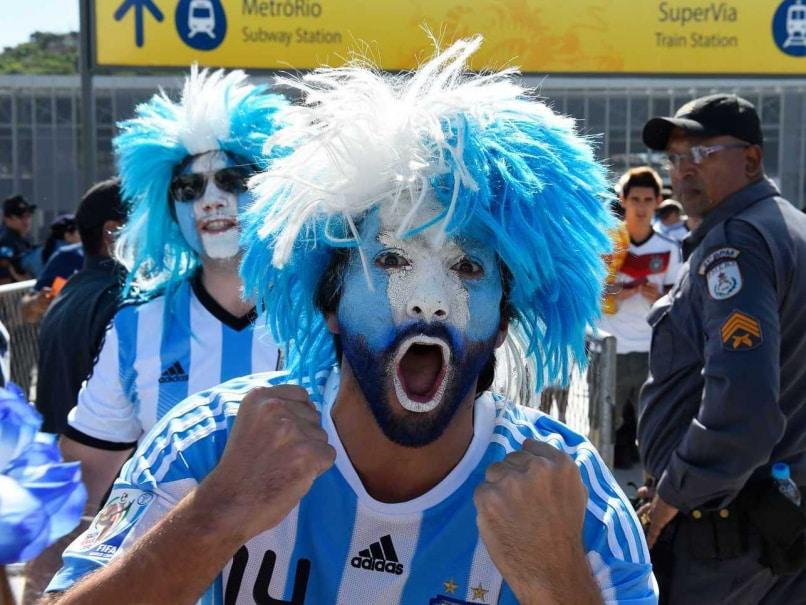 Argentina fan
