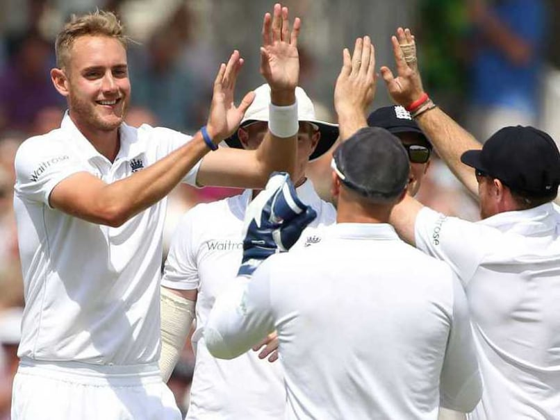 India in England: Stuart Broad Proud to Join 'Exclusive Test Club'