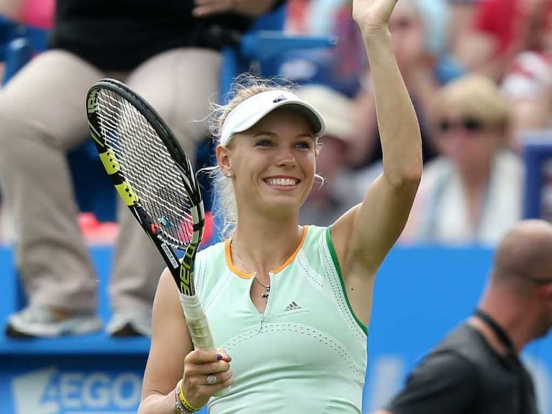 Caroline Wozniacki Through to Istanbul Cup Semifinals