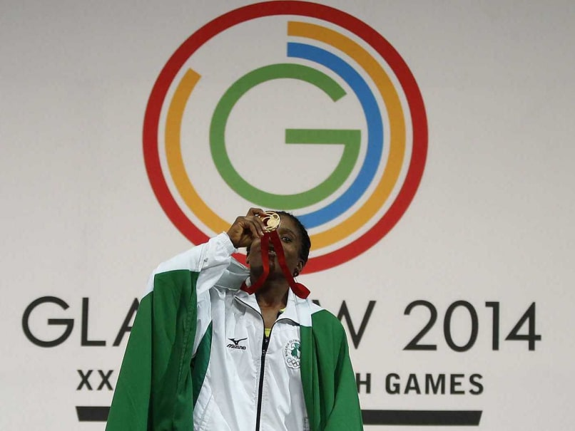 Commonwealth Games 2014: Nigerian Teen Chika Amalaha Strikes 53kg Weightlifting Gold