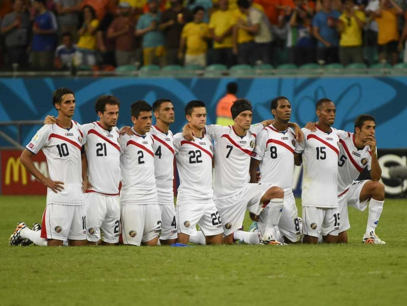 Costa Rica Walking Tall Out of FIFA World Cup Door