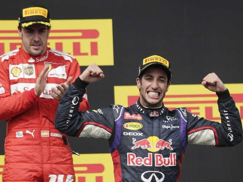 Daniel Ricciardo Wins Hungarian Grand Prix