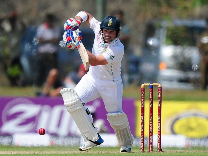 First Test: Dean Elgar's Ton Takes South Africa to 268-5 vs Sri Lanka on Day 1