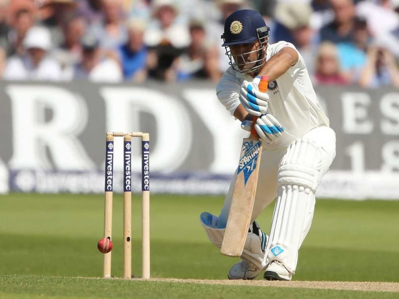 Mahendra Singh Dhoni Closes in on a 1000 Test Runs vs England