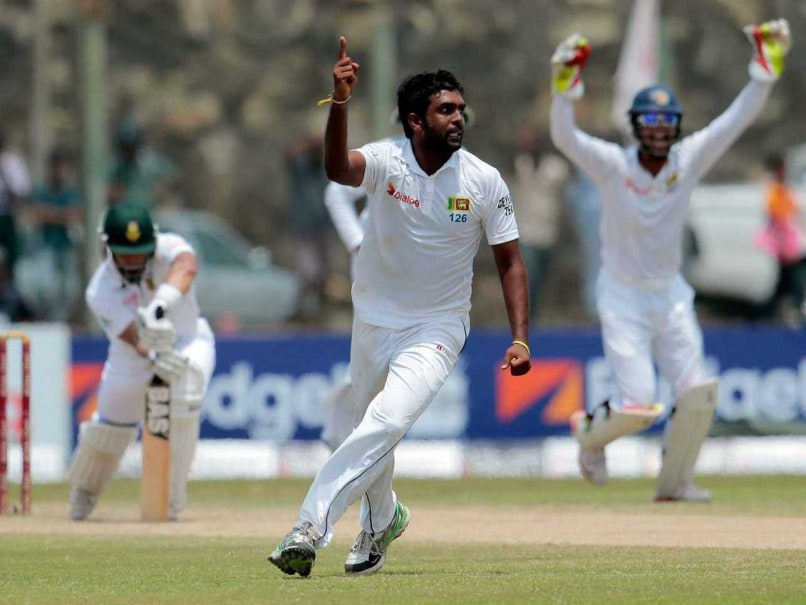 2nd Test: Sri Lanka on Top Despite Hashim Amla Century