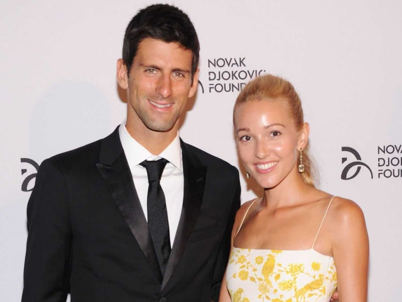 Wimbledon Champion Novak Djokovic Marries Girlfriend Jelena Ristic