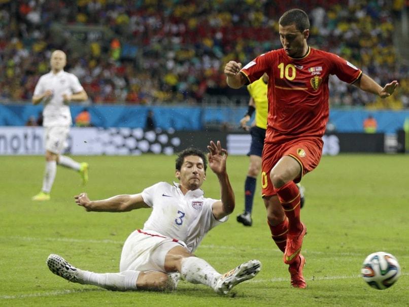 Eden Hazard vs USA