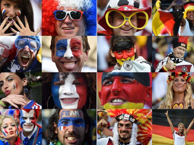 France and Germany will take on each other in the FIFA World Cup quarterfinal