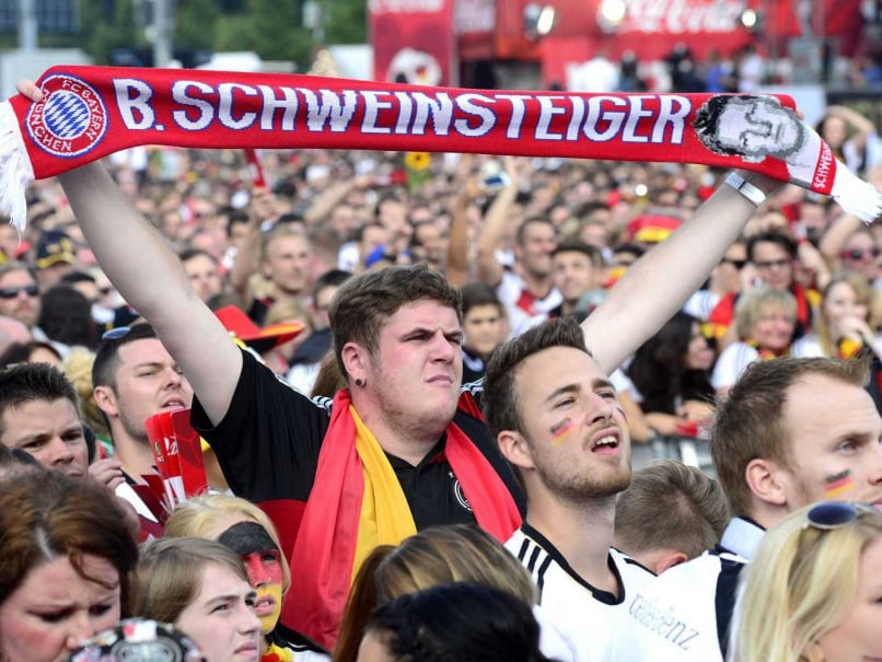 Jubilant Fans Welcome World Cup Champions Germany Home