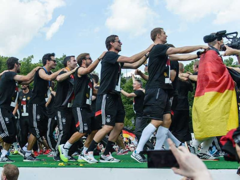 Germany Throws Giant Homecoming Party for World Cup 2014 Heroes