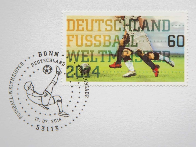Confident Germany had Printed World Cup Stamps Before Final
