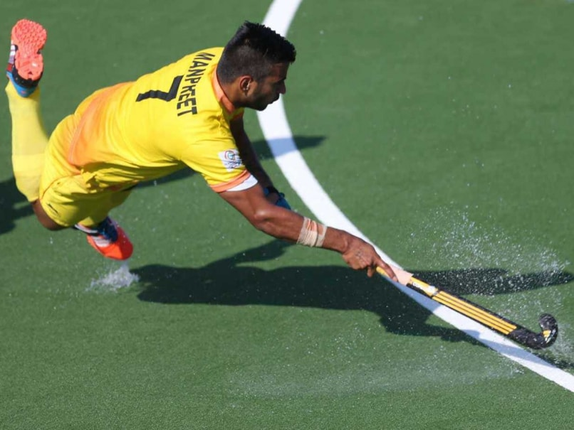 Manpreet Singh Named Asia's Junior Player of the Year