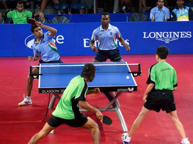 Commonwealth Games 2014: Indian Table Tennis Teams Off to Solid Start
