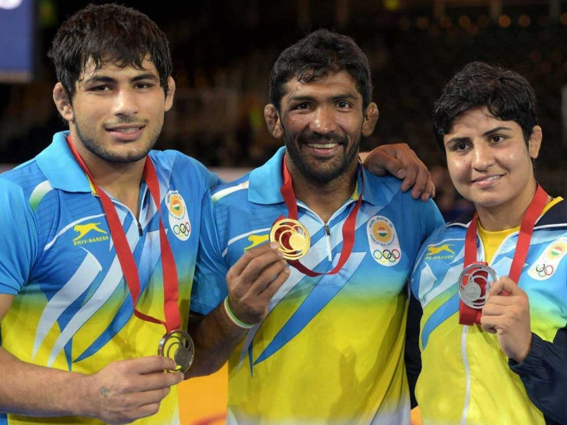 CWG 2014: Indian Wrestlers Wrap Up With Two Golds, a Silver and a Bronze