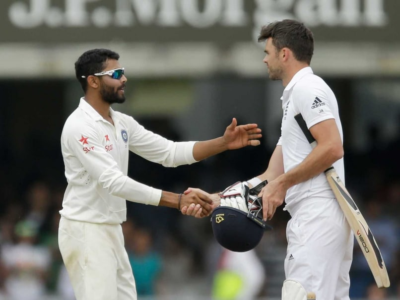 England vs India: James Anderson to Attend Preliminary Hearing Over Jadeja Altercation on Tuesday