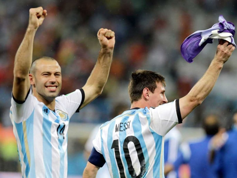 FIFA World Cup: Leader of the Pack Javier Mascherano Keeps Lid on Expectations