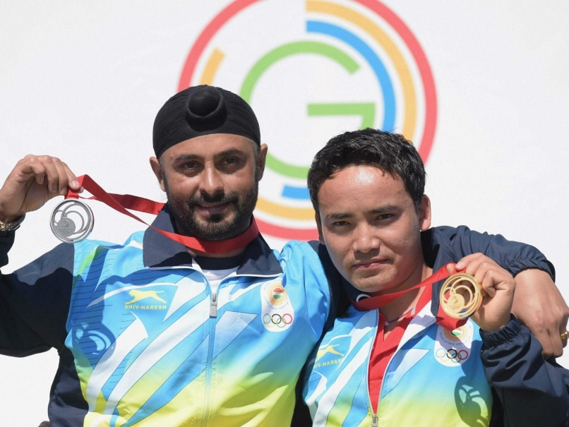 Commonwealth Games 2014: Jitu Rai Wins Gold in 50m Pistol, Gurpal Singh Takes Silver
