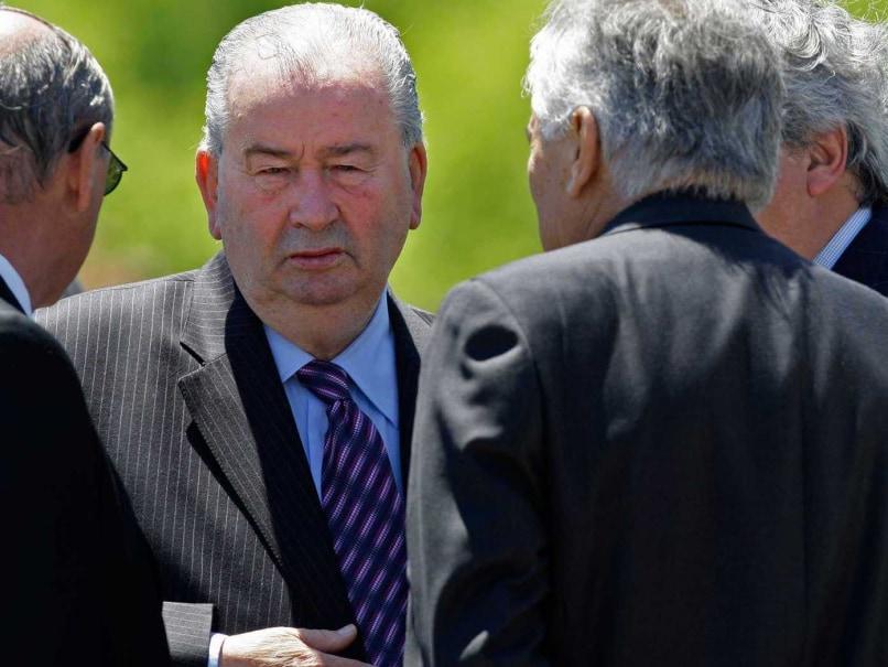 Argentine Football Chief Julio Grondona Dies