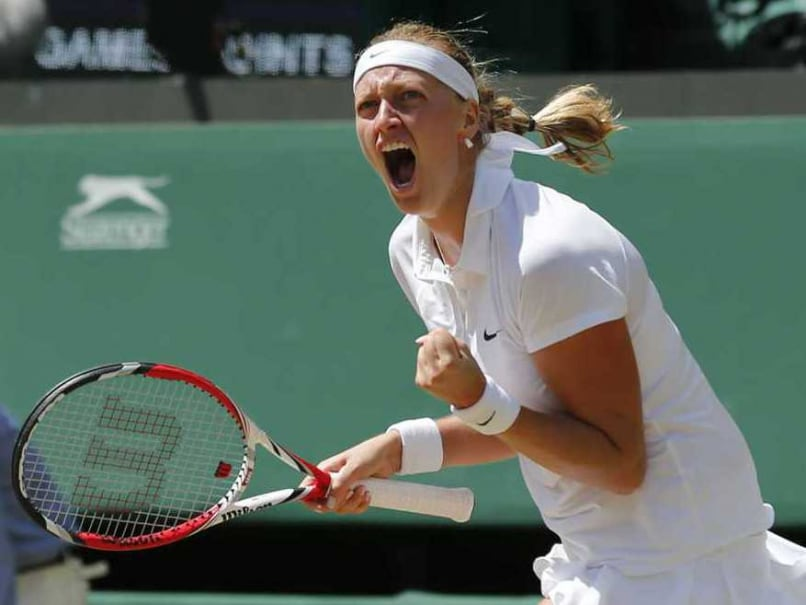 Wimbledon: Petra Kvitova Storms into Second Round With Crushing Win