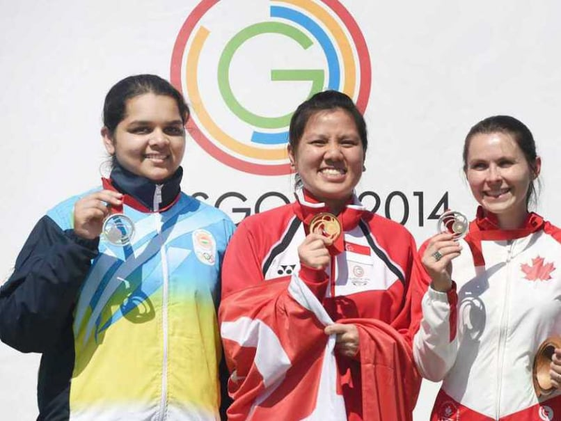 Commonwealth Games 2014: 16-year-old Malaika Goel Wins India Silver in 10m Air Pistol