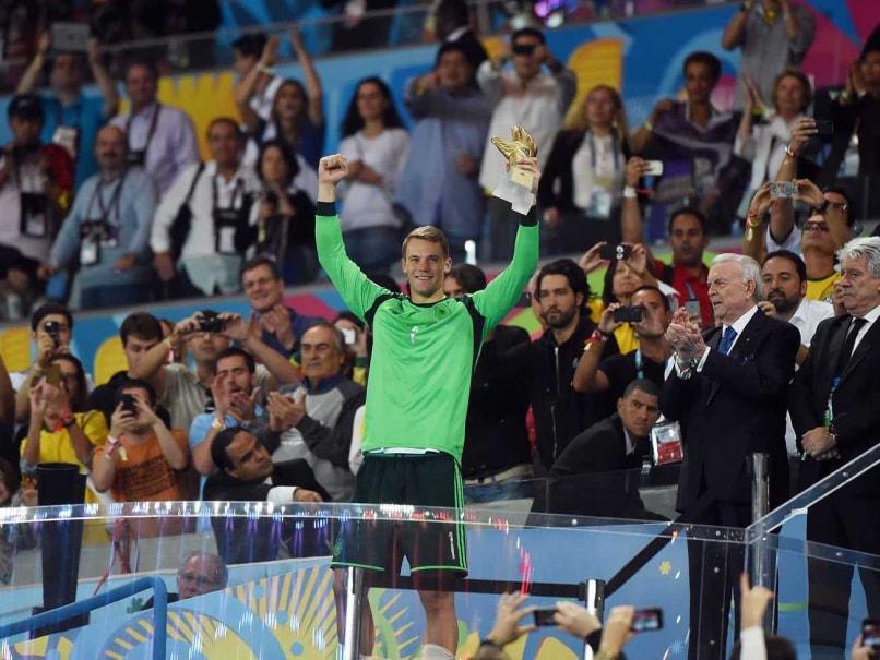 Manuel Neuer Germany Golden Glove World Cup Goetze Final Rio