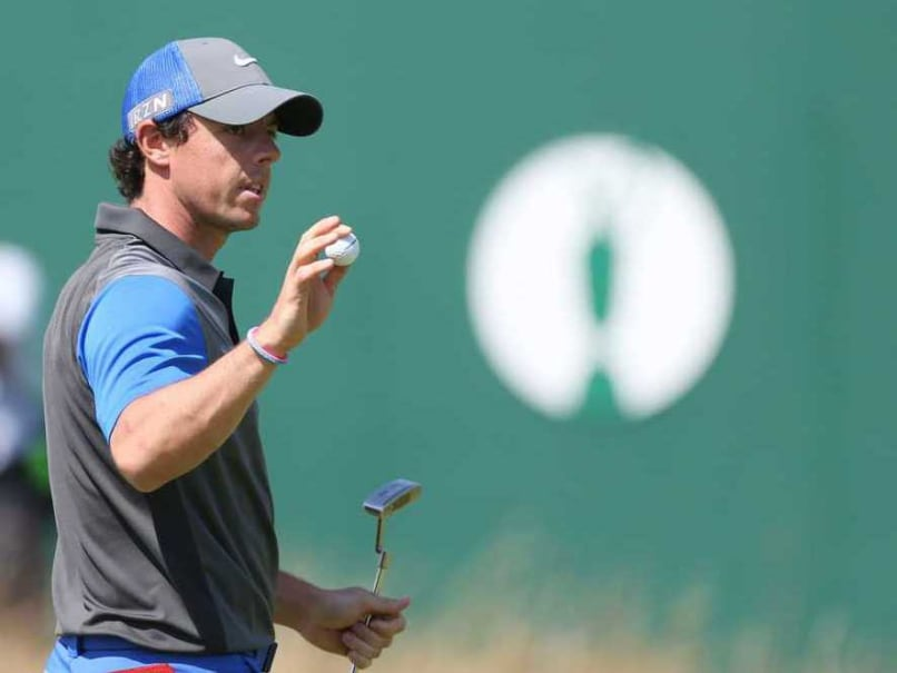 Rory McIlroy Maintains Four-Stroke Lead at British Open