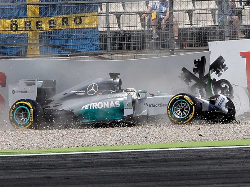 Mercedes Confirm Brake Failure Caused Lewis Hamilton Crash
