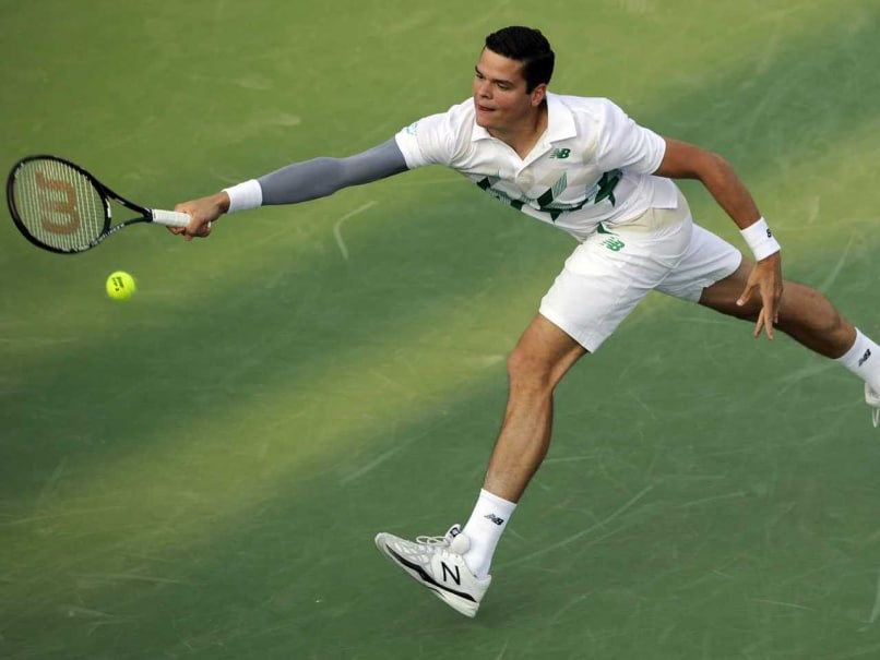 Milos Raonic, Tomas Berdych Win, John Isner Out of WTA Washington Open