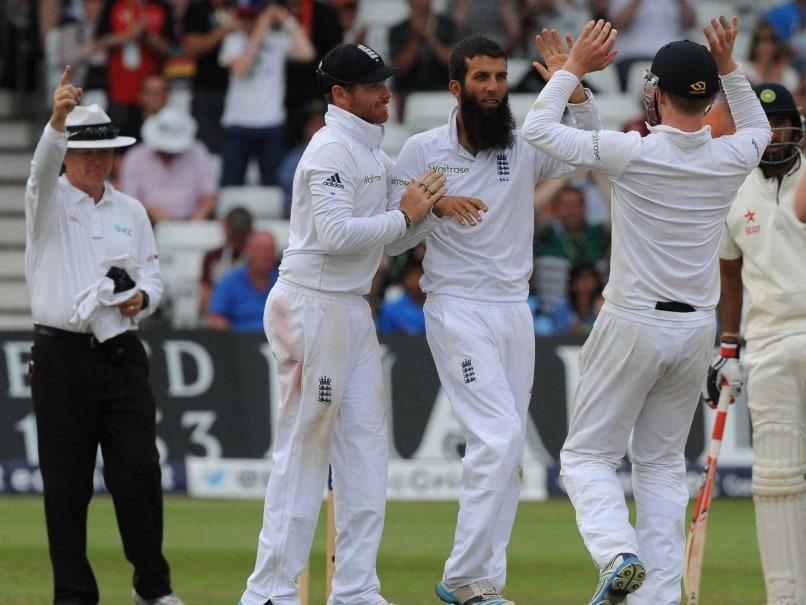 Moeen Ali - second wicket