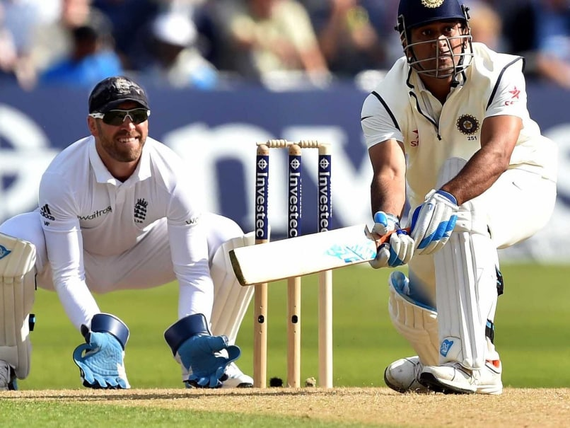 MS Dhoni-Trent Bridge