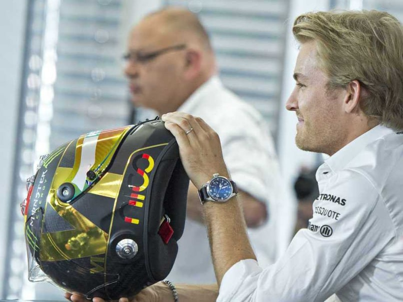 Nico Rosberg Changes World Cup Helmet on FIFA Complaint