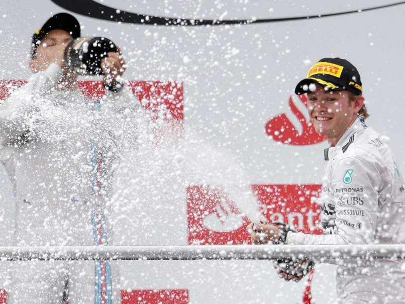 F1 Championship Leader Nico Rosberg Wins German GP