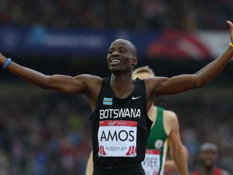 Commonwealth Games 2014: Nijel Amos Stuns Olympic King David Rudisha in 800m Final