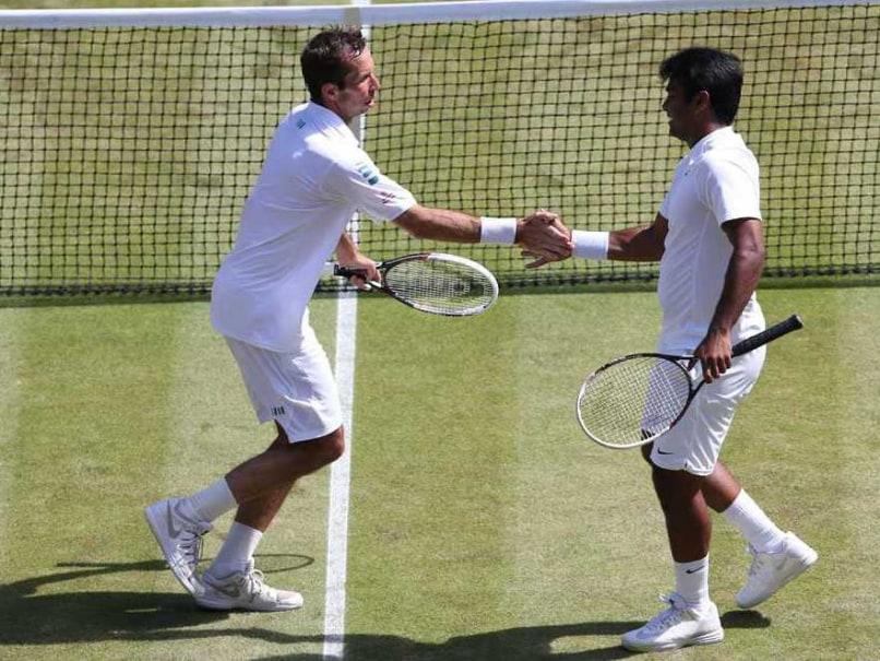 Wimbledon 2014: Leander Paes-Radek Stepanek Reach Mens Doubles Semifinals After Great Fightback