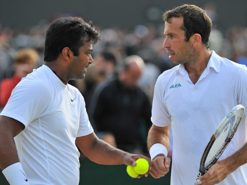 Leander Paes, Sania Mirza Win US Open Openers