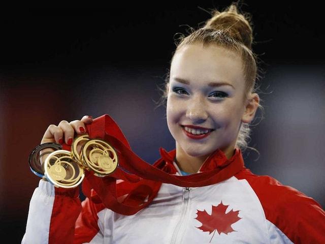 Commonwealth Games 2014: Rhythmic Gymnast Patricia Bezzoubenko Wins Five Golds