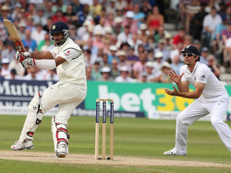 Pujara - Cook Trent Bridge