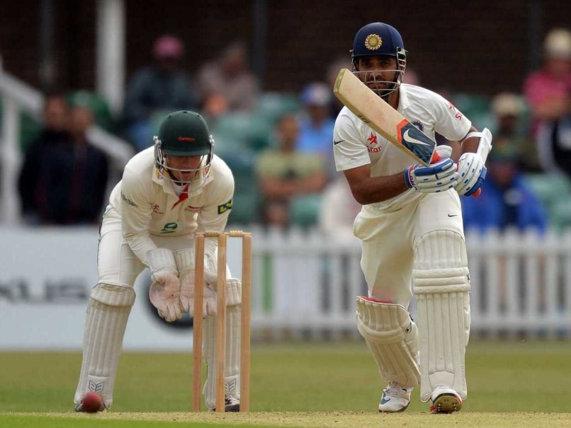 Murali Vijay, Ajinkya Rahane Guide India to Five-Wicket Win Over Derbyshire