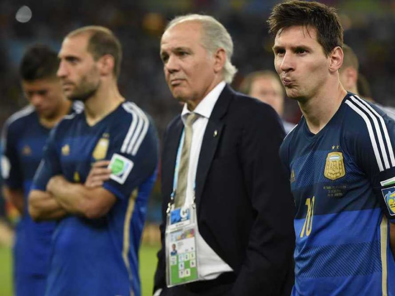 World Cup 2014 Final: Alejandro Sabella Rues Missed Argentina Chances