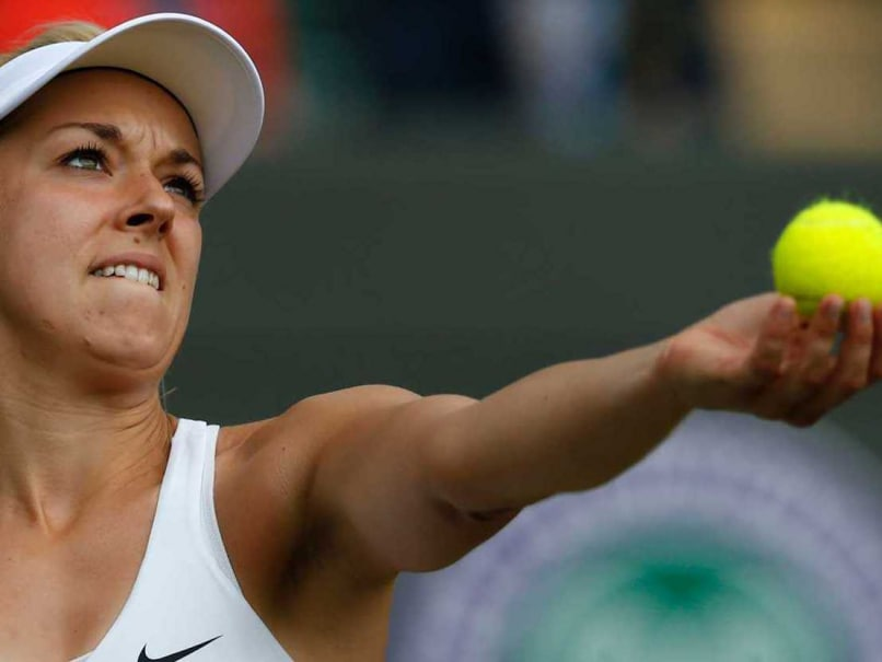 Top Seed Sabine Lisicki in a Hong Kong Hurry