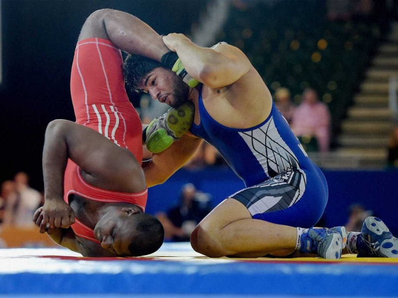 Commonwealth Games 2014: Satyawart Kadian Gets Silver in 97kg Freestyle Wrestling