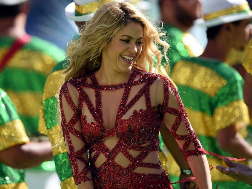 Shakira FIFA World Cup closing ceremony