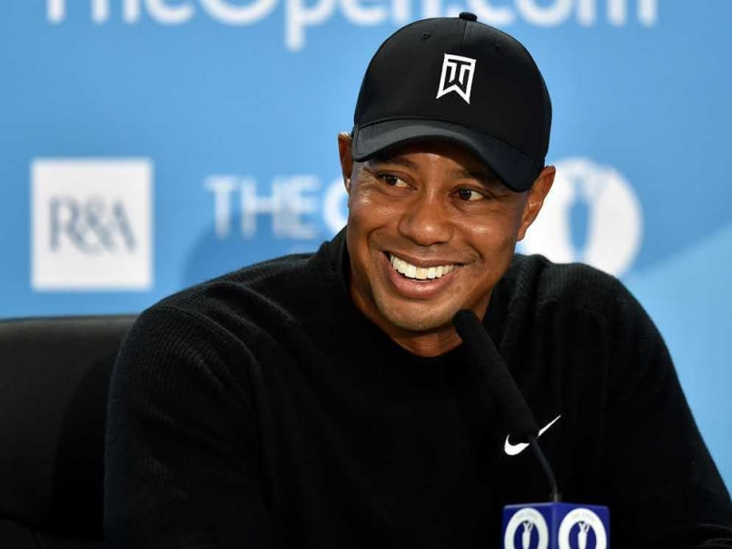 Tiger Woods Aiming High at British Open