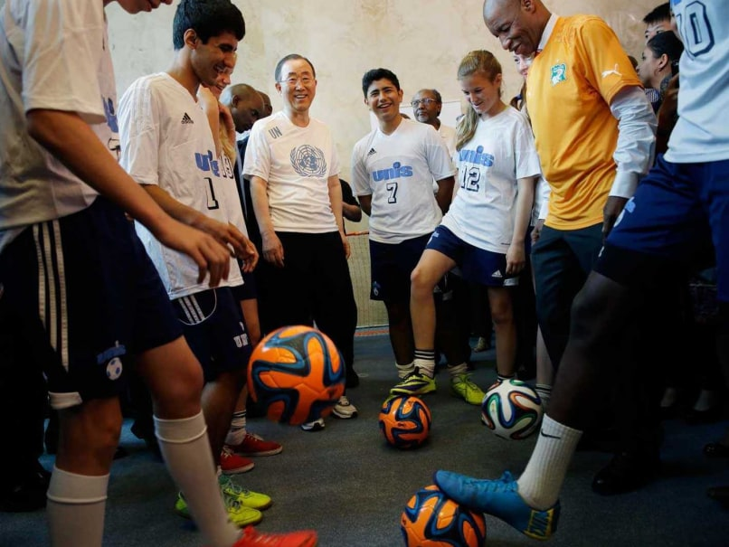 UN Soccer Match Pits Ambassadors Against Journalists
