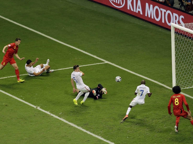 USA vs Belgium last 16