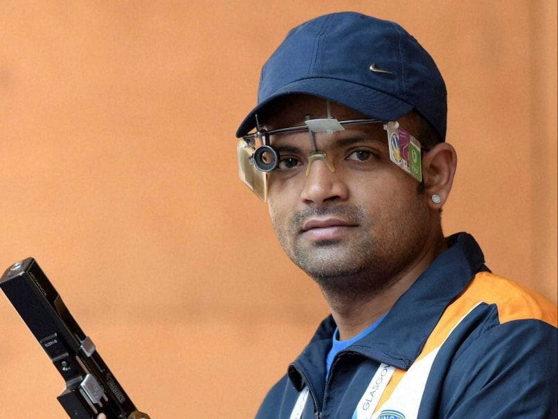 Commonwealth Games 2014: Harpreet Singh Tops, Vijay Kumar 4th in Men's 25m Rapid Fire Pistol Qualification