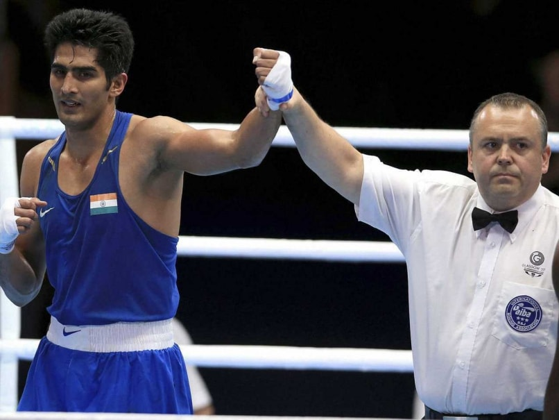 Commonwealth Games 2014: Boxer Vijender Singh Packs a Punch After Wrestlers Win Four Silver for India